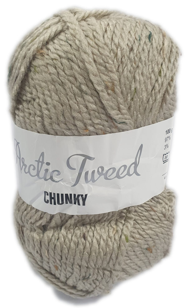 ARCTIC TWEED CHUNKY-COL.1199 PEPPER 1
