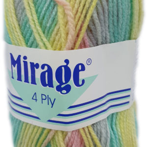 MIRAGE 4 PLY PRINT 25g-COL.308 SNICKER DOODLE 10