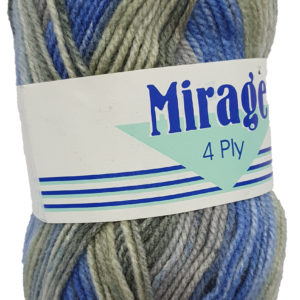 MIRAGE 4 PLY PRINT 25g-COL.312 BLUEBERRY FREEZE 10