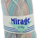 MIRAGE 4 PLY PRINT 25g-COL.303 CINNAMON SNAP 3