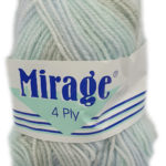 MIRAGE 4 PLY PRINT 25g-COL.303 CINNAMON SNAP 2