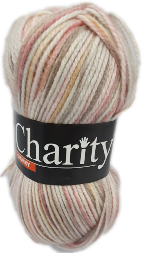 CHARITY CHUNKY PRINT 100g-COL.240 TOUCAN DO IT 1