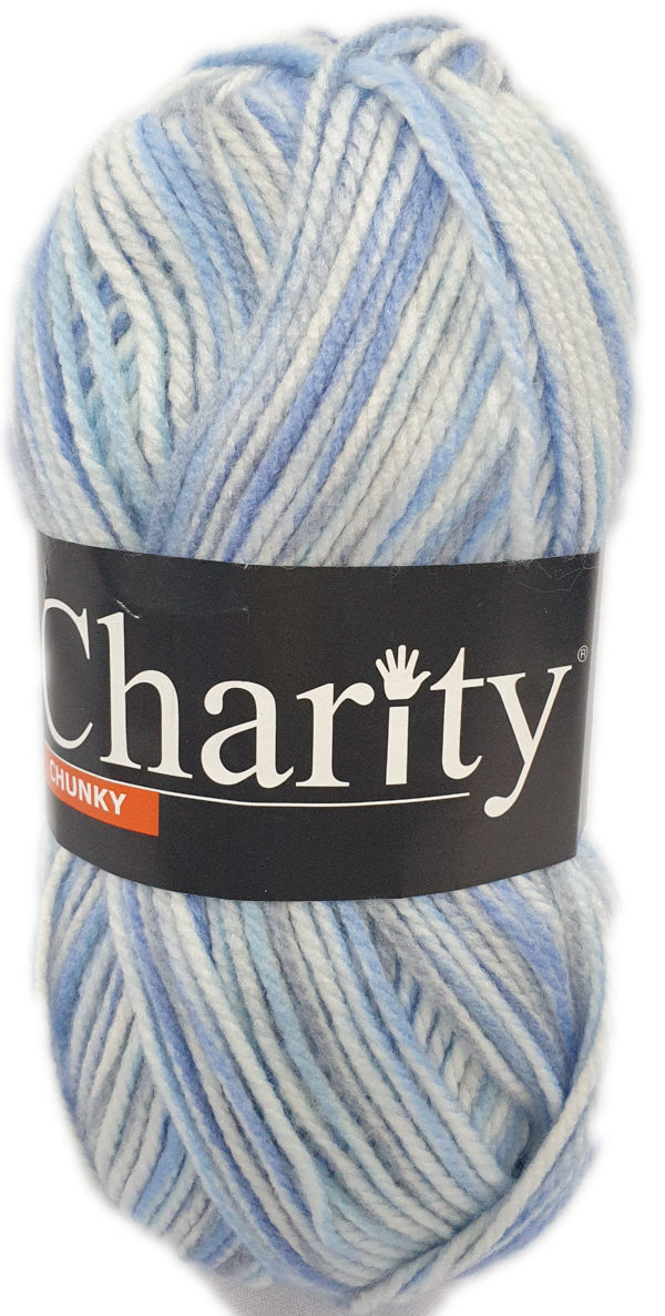 CHARITY CHUNKY PRINT 100g-COL.243 ALL THE WAVE 1