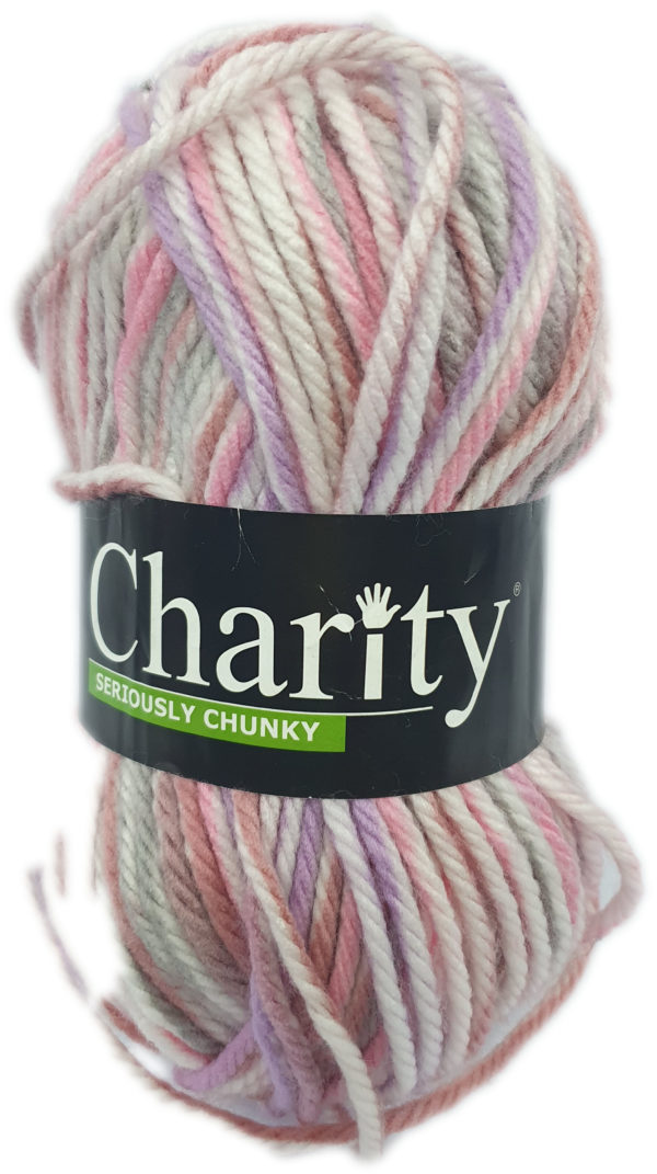 CHARITY SERIOUSLY CHUNKY PRINT-COL.241 PINKI PROMISE 1