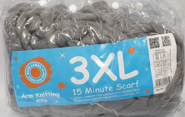 3 XL ARM KNITTING 400g-COL.059 SILVER GREY 1