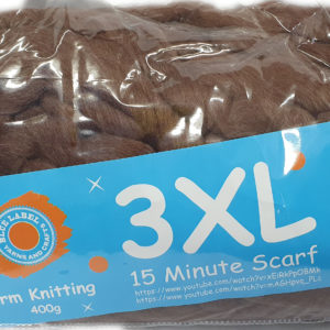 3 XL ARM KNITTING 400g-COL.065 BROWN 9