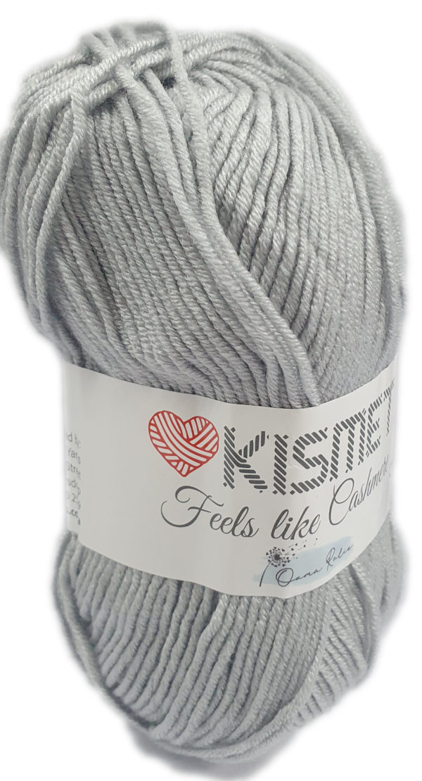 FEELS LIKE CASHMERE-COL.6671 SILVER 1