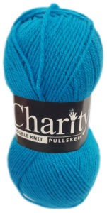 CHARITY PULLSKEIN DOUBLE KNIT-COL.059 TURQUOISE 4