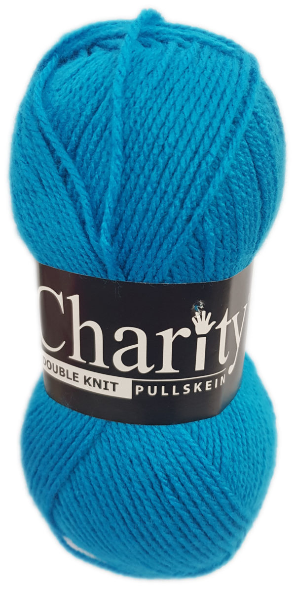 CHARITY PULLSKEIN DOUBLE KNIT-COL.059 TURQUOISE 1