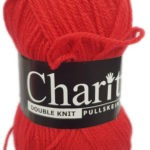 CHARITY PULLSKEIN DOUBLE KNIT-COL.101 GRAPE 2