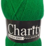 CHARITY PULLSKEIN DOUBLE KNIT-COL.040 CLARET 2