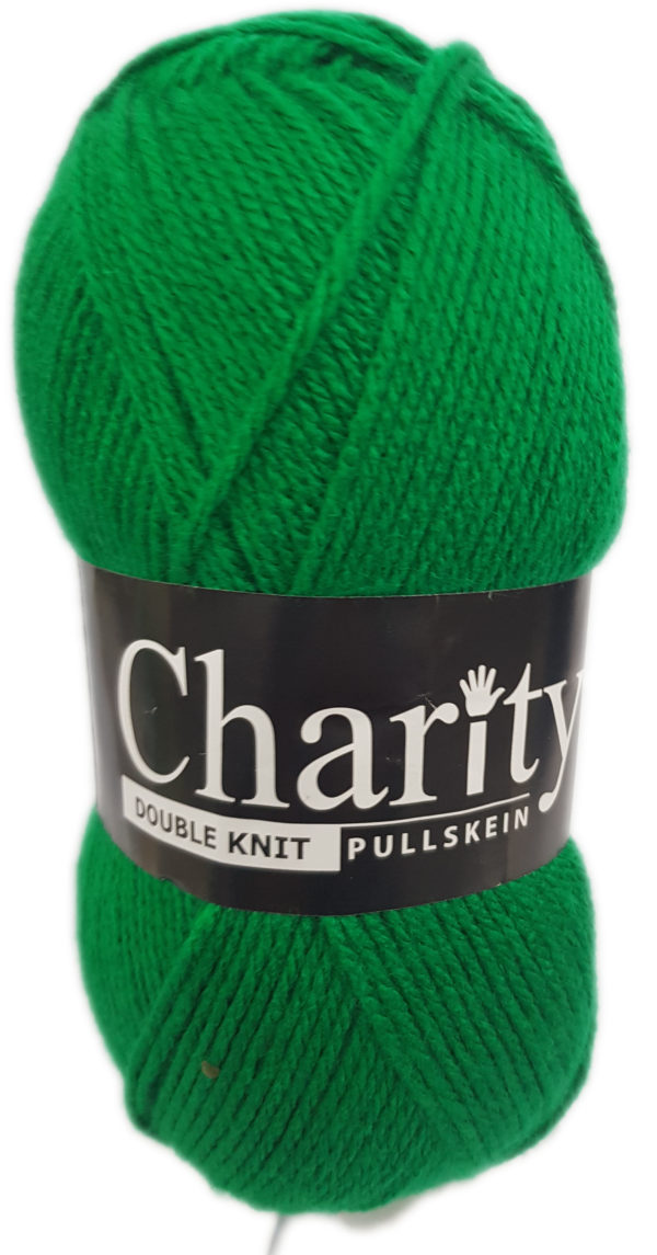 CHARITY PULLSKEIN DOUBLE KNIT-COL.022 EMERALD 1