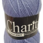 CHARITY PULLSKEIN DOUBLE KNIT-COL.169 CHERRY RED 3
