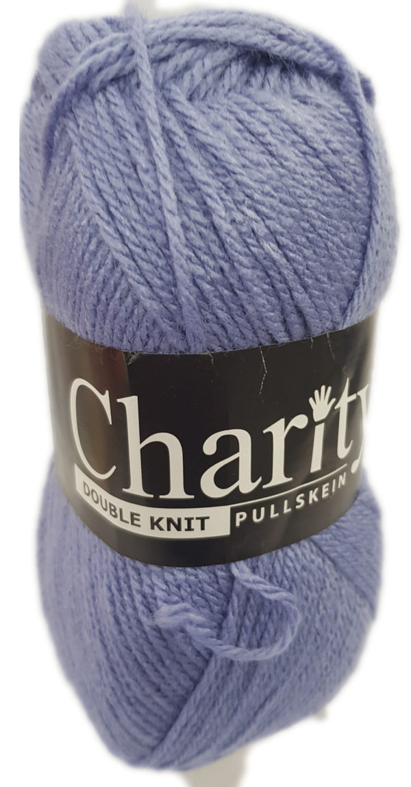CHARITY PULLSKEIN DOUBLE KNIT-COL.134 MAUVE 1