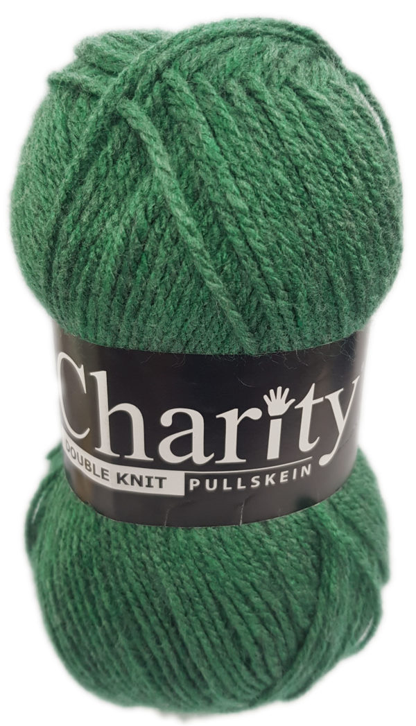 CHARITY PULLSKEIN DOUBLE KNIT-COL.256 PINE 1