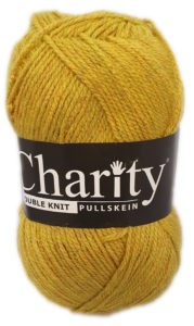 CHARITY PULLSKEIN DOUBLE KNIT-COL.135 MUSTARD 4