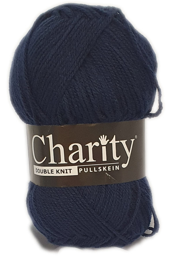 CHARITY PULLSKEIN DOUBLE KNIT-COL.056 NAVY 1