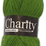 CHARITY PULLSKEIN DOUBLE KNIT-COL.169 CHERRY RED 2
