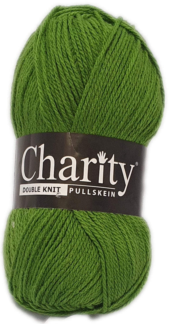 CHARITY PULLSKEIN DOUBLE KNIT-COL.062 OLIVE 1
