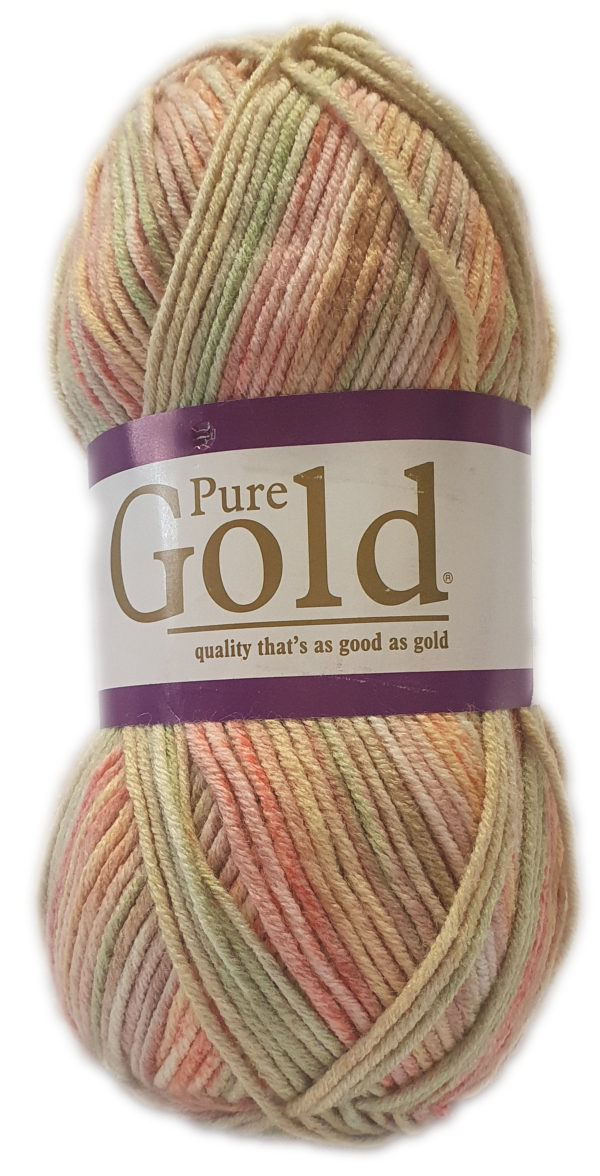 PURE GOLD D.K PRINT 100g-COL.156 WASABI 1