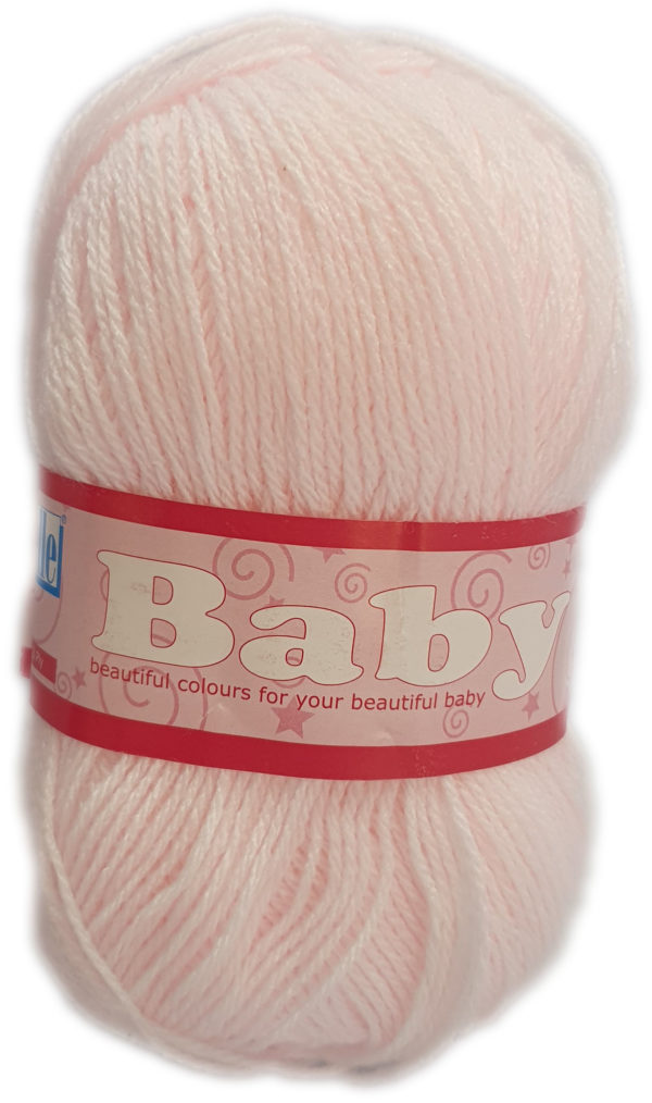 BABY 3 PLY 50g-COL.004 PINK 1