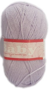 BABY 3 PLY 50g-COL.071 PALE LILAC 4
