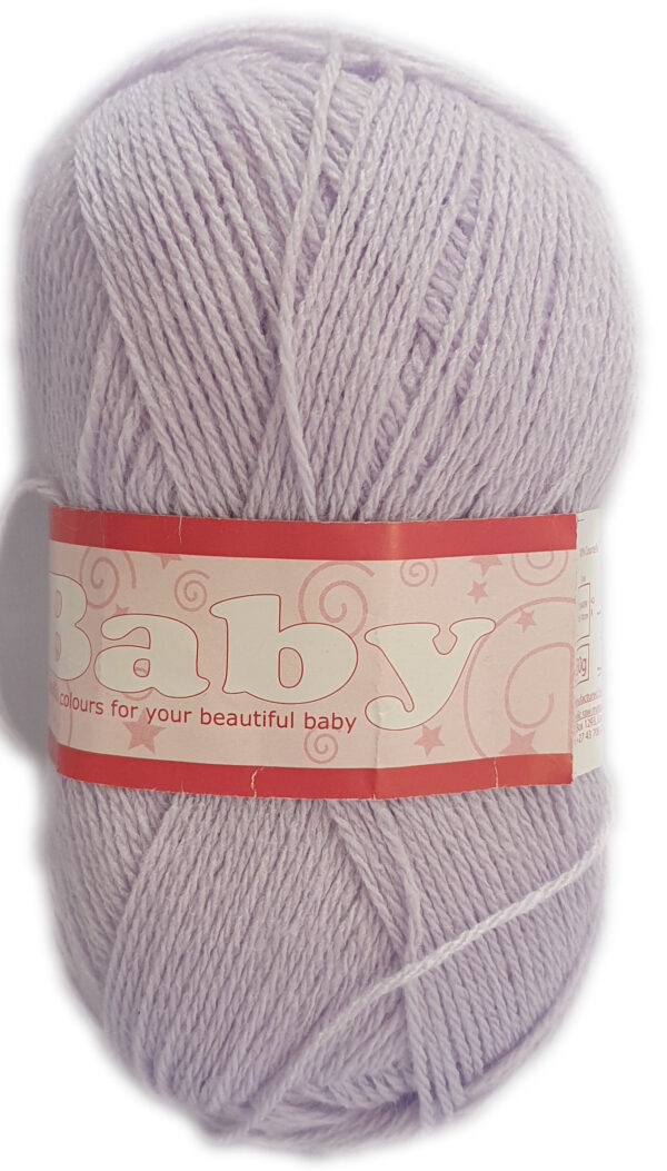 BABY 3 PLY 50g-COL.071 PALE LILAC 1