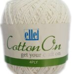 COTTON ON 4 PLY 100g-COL.704 ICED PINK 3