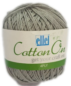 COTTON 4 PLY 100g-COL.711 ICED GREY 4