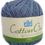 COTTON ON 4 PLY 100g-COL.803 THUNDER GREY 3