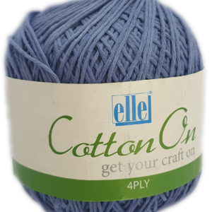 COTTON ON 4 PLY 100g-COL.750 BLUE 5