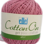 COTTON ON 4 PLY 100g-COL.704 ICED PINK 2