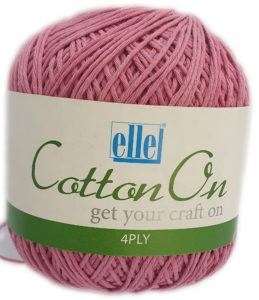 COTTON ON 4 PLY 100g-COL.753 PINK 4