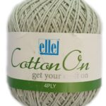 COTTON 4 PLY 100g-COL.711 ICED GREY 3
