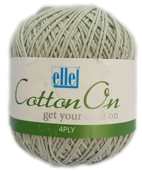 COTTON ON 4 PLY 100g-COL.774 ICED GREEN 1