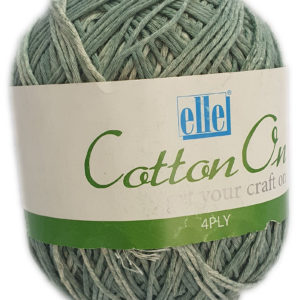 COTTON ON 4 PLY 100g-COL.802 FORREST GREEN 8
