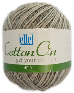 COTTON ON 4 PLY 100g-COL.803 THUNDER GREY 4