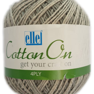 COTTON ON 4 PLY 100g-COL.803 THUNDER GREY 9