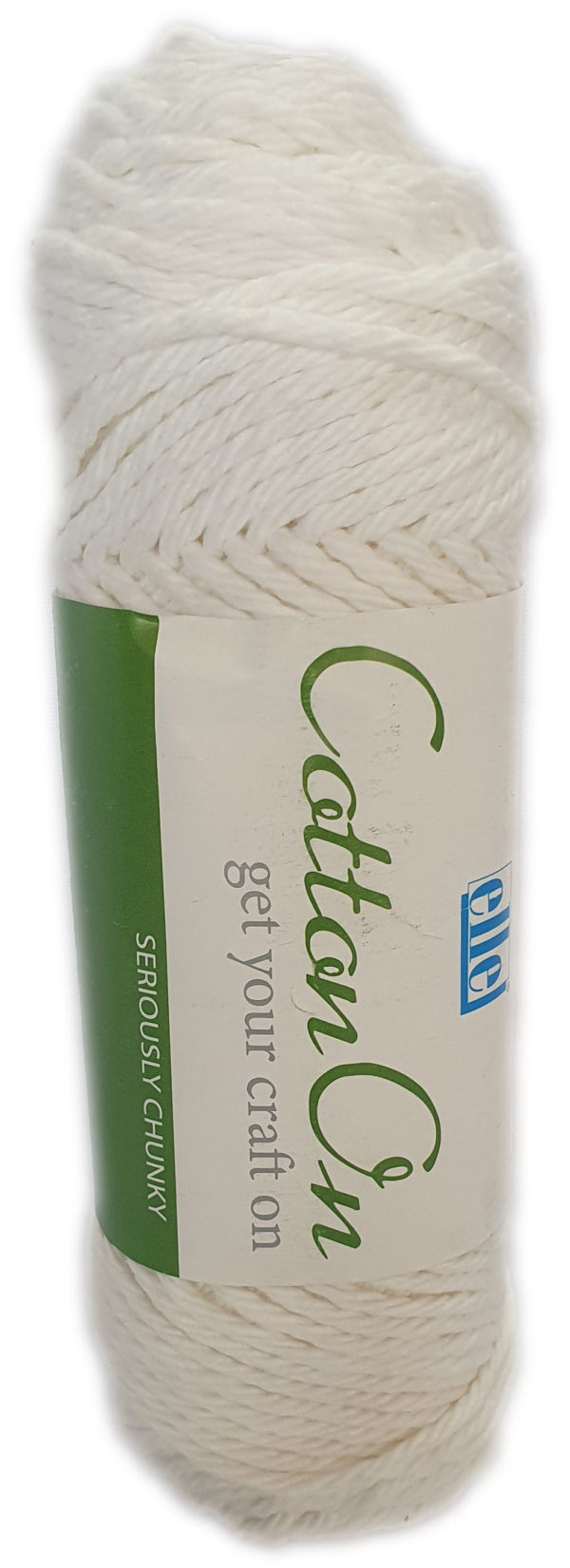 COTTON ON SERIOUSLY CHUNKY 100g-COL.001 WHITE 1