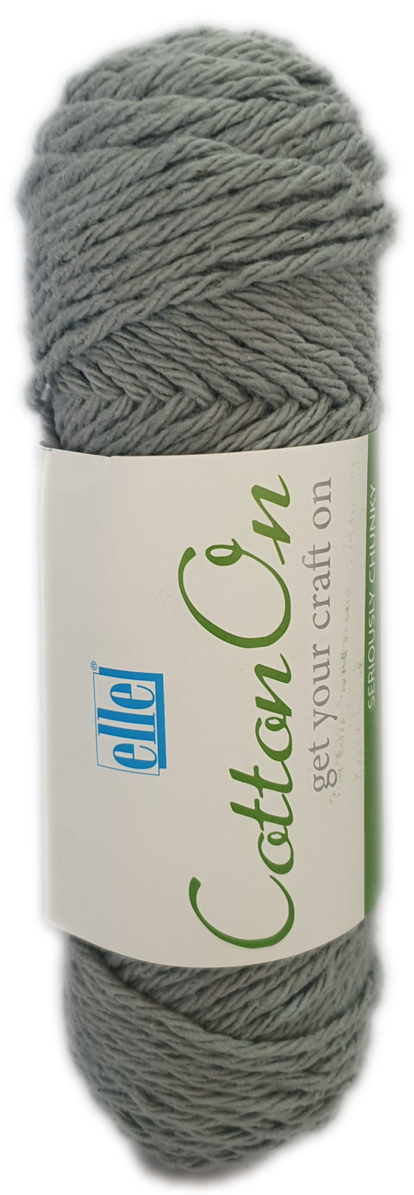 COTTON ON SERIOUSLY CHUNKY 100g-COL.751 GREY 1