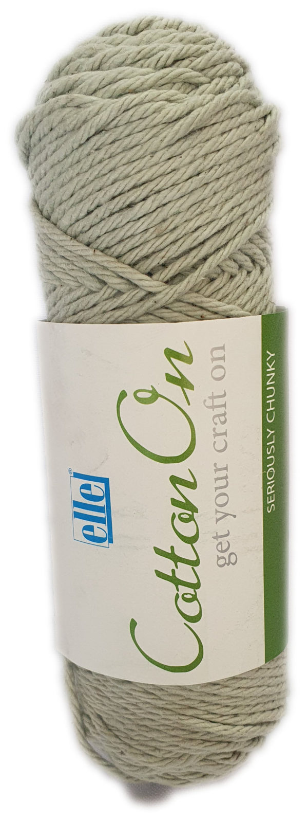 COTTON ON SERIOUSLY CHUNKY 100g-COL.774 ICED GREEN 1