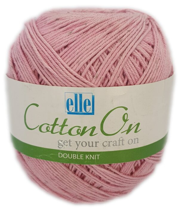 COTTON ON D.K 250g-COL.704 ICED PINK 1