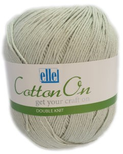 COTTON ON D.K 250g-COL.774 ICED GREEN 4