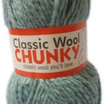 CLASSIC WOOL CHUNKY 100g-COL.135 CURRY 2