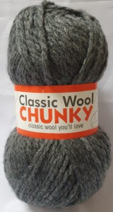 CLASSIC WOOL CHUNKY 100g-COL.051 GRAPHITE 4
