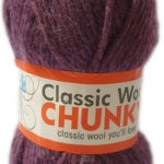 CLASSIC WOOL CHUNKY 100g-COL.051 GRAPHITE 2