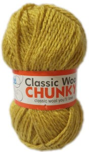 CLASSIC WOOL CHUNKY 100g-COL.135 CURRY 4