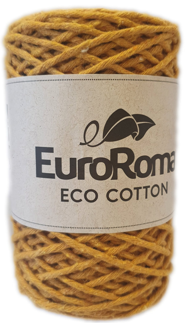 ECO-COTTON 200g-COL.470 MUSTARD 1