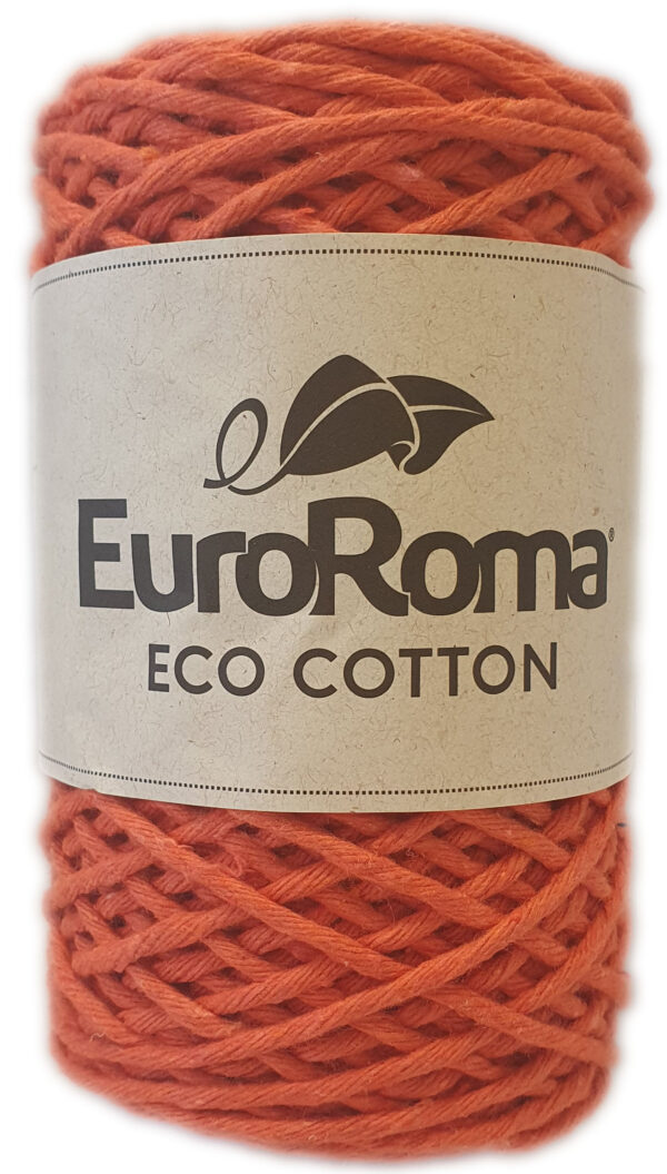 ECO-COTTON 200g-COL.750 ORANGE 1