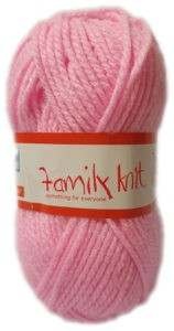 FAMILY KNIT CHUNKY 50g-COL.004 JUST PINK 4